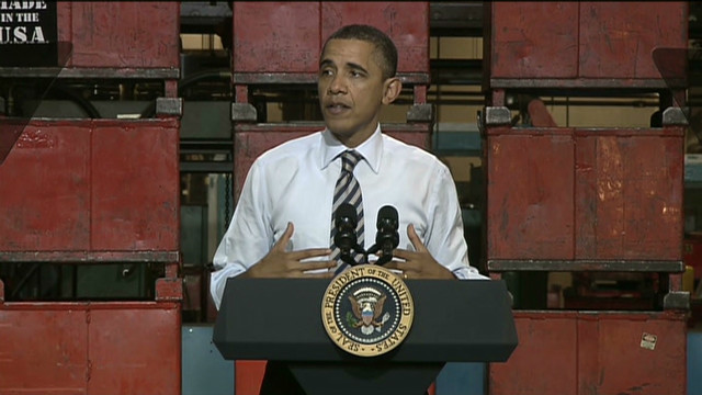 Obama focuses on domestic job growth