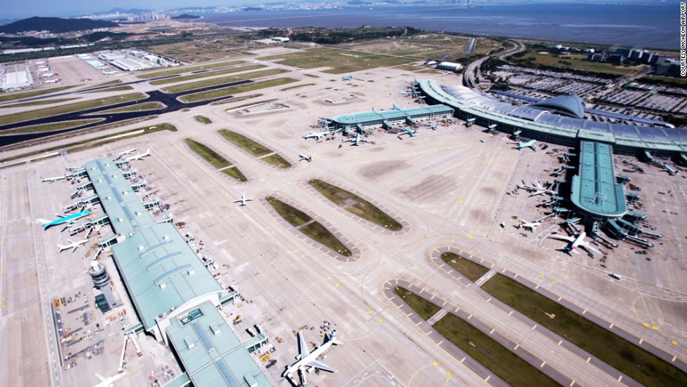 Second place in the best airport category was awarded to South Korea's sprawling Incheon International Airport, which offers passengers a variety of enticing distractions such as an ice rink, casino and nearby golf course.