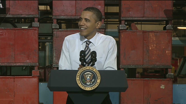 Obama jokes about daughters, high school