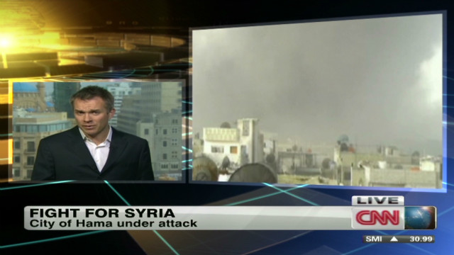 Syria forces step up assaults
