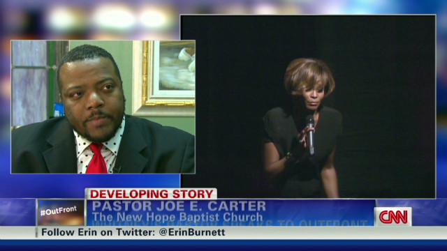 Pastor on Whitney Houston's funeral