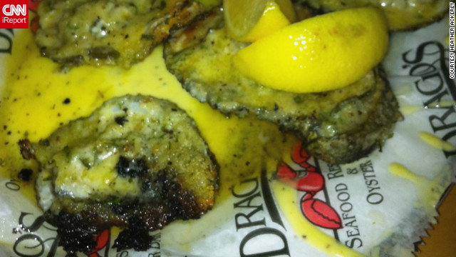"""That first bite of a fresh Gulf oyster is one to savor,""  said Heather Ackerly about Drago's charbroiled oysters."