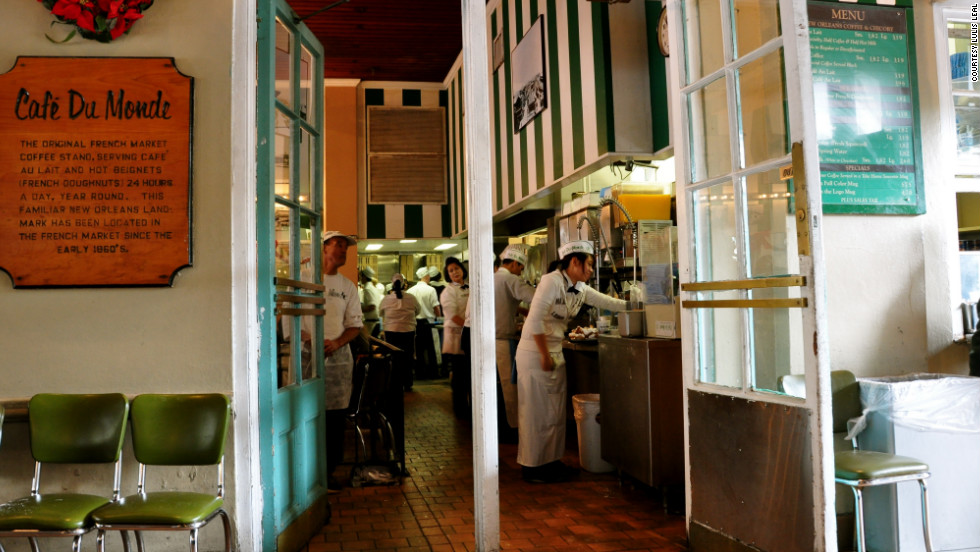 """Café du Monde is usually crowded and noisy and there's usually a wait, but their coffee and beignets are the best anywhere,"" Leal said. One tip: ""Be careful not to put your elbows on the table as they are usually covered in powdered sugar."""