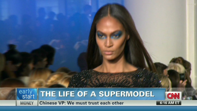 The life of a supermodel