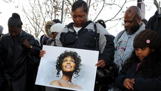 Whitney Houston flag controversy
