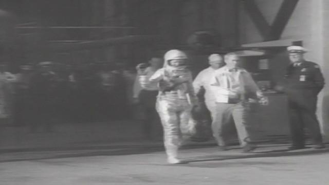 1962: John Glenn orbits Earth