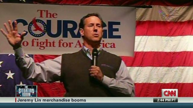 No support for Santorum in Senate?