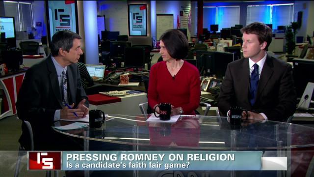Pressing Romney on religion