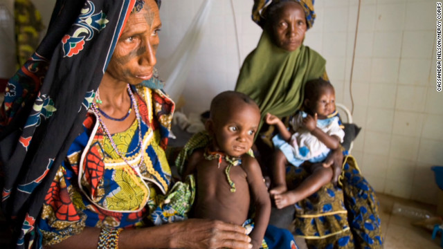 Niger families run out of food