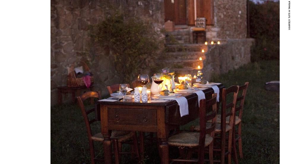 Tutti a Tavola in Chianti, Italy