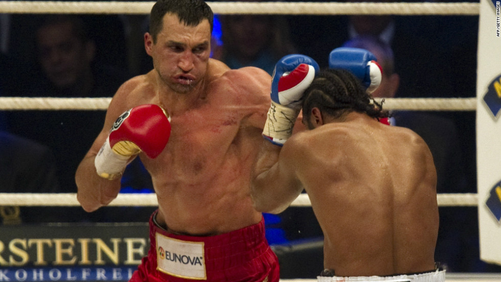 Wladimir instead fought Haye in July 2011, taking the Briton's WBA title and defending his own belts. Haye retired in October after his 31st birthday, but has been angling to fight Vitali.
