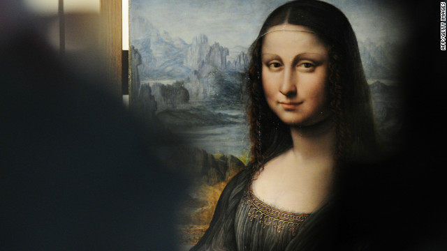An authenticated contemporary copy of da Vinci's Mona Lisa at the Prado Museum in Madrid on February 1, 2012.