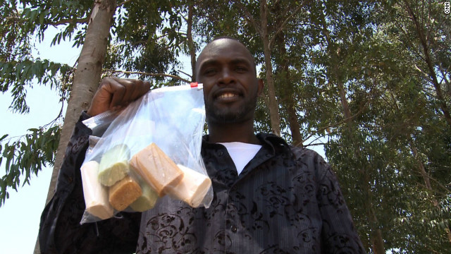 Derreck Kayongo is the creator of the Global Soap Project.