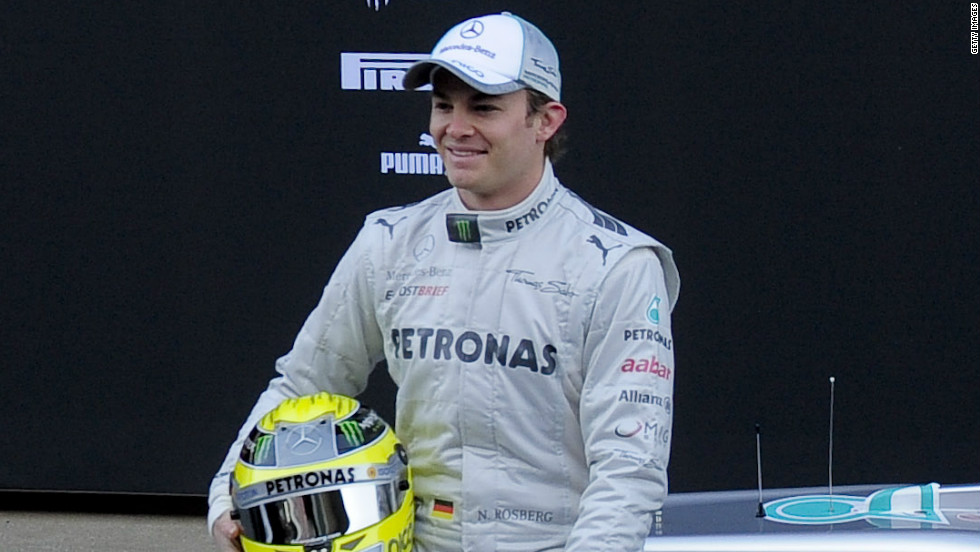 Nico Rosberg finished the 2011 Formula One season one place and 13 points ahead of compatriot and Mercedes teammate Schumacher.