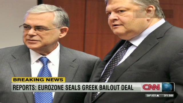 Second Greek bailout approved