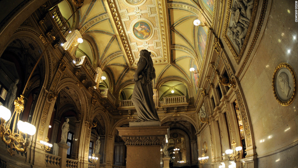 The Vienna State Opera is probably the grandest opera venues in the city.