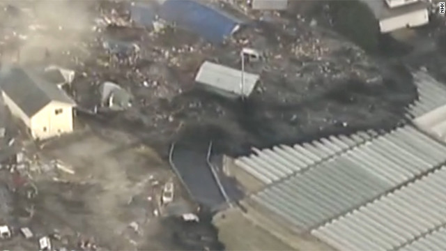 2011: Japan tsunami brings destruction