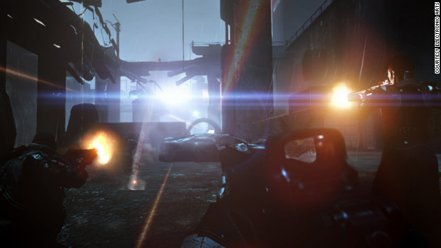 "Lens flare and extreme lighting proves frustrating and diminishes enjoyment of playing ""Syndicate."""