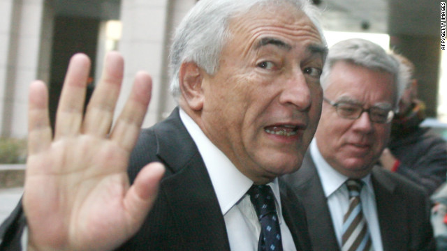 Ex-International Monetary Fund chief Dominique Strauss-Kahn is not allowed to have contact with others involved in the probe.