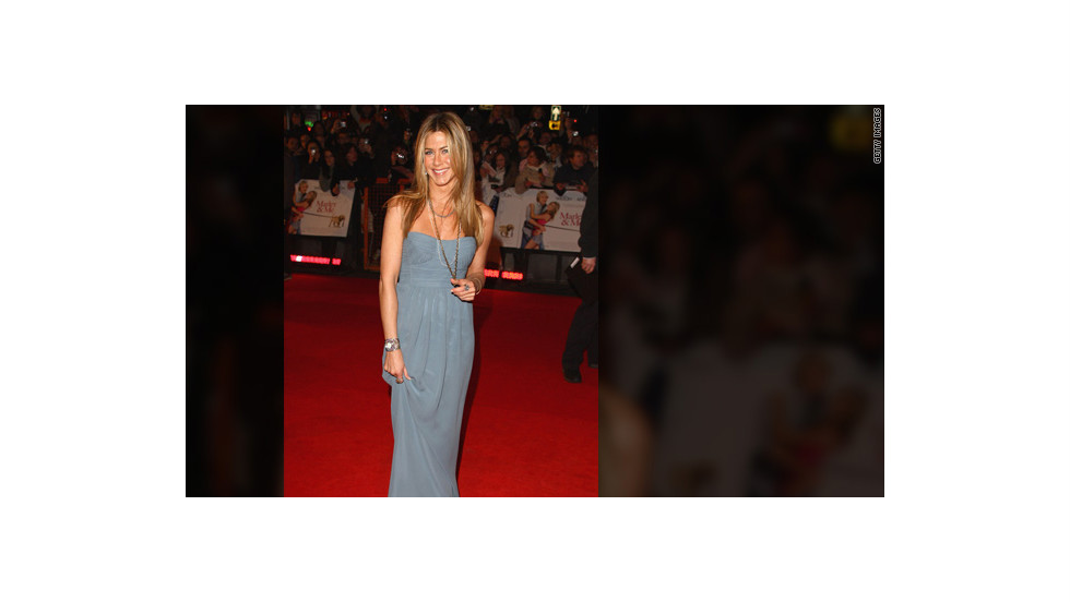 "Aniston attended a premiere of ""Marley & Me"" in 2009."