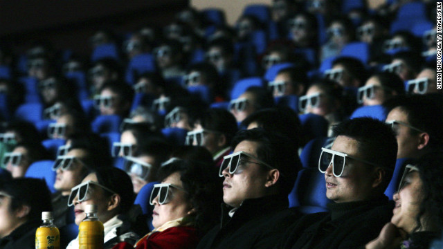 Under the new U.S.-China deal, more IMAX or 3D films are being allowed into China.