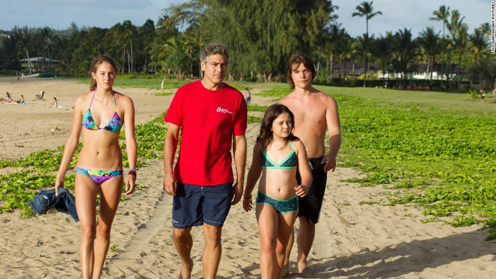 """The Descendants,"" starring George Clooney, is a family drama set in spectacular Kauai in the Hawaiian Islands."