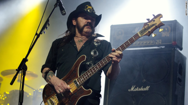 Lemmy Kilmister of Motorhead performs February 10 in Chicago, Illinois.