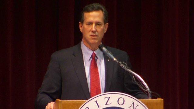 Santorum: Don't vote for a rock star