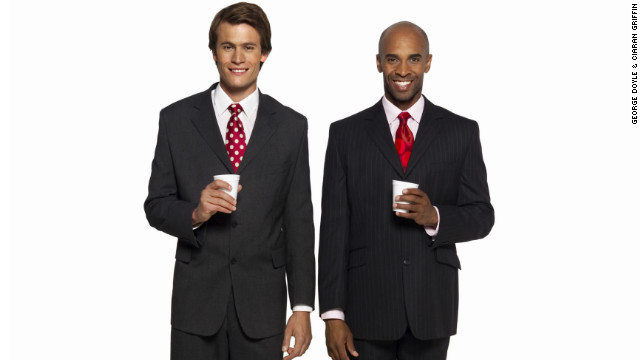 businessmen coffee
