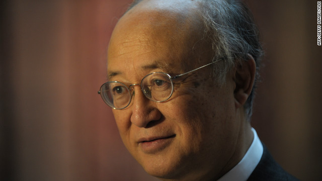 IAEA Director General Yukiya Amano, pictured in January, says no agreement was reached.