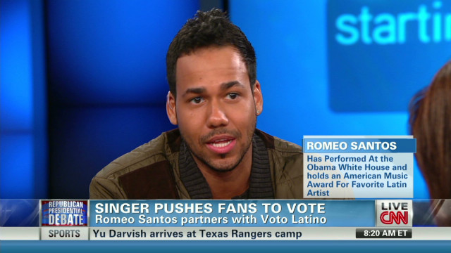 'Bachata King' gets out Latino vote