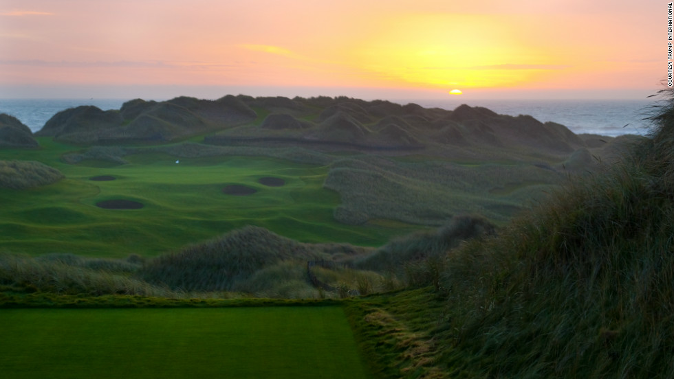 Is the sun about to set on Trump's plans for a golf complex capable of hosting Ryder Cups and the British Open?
