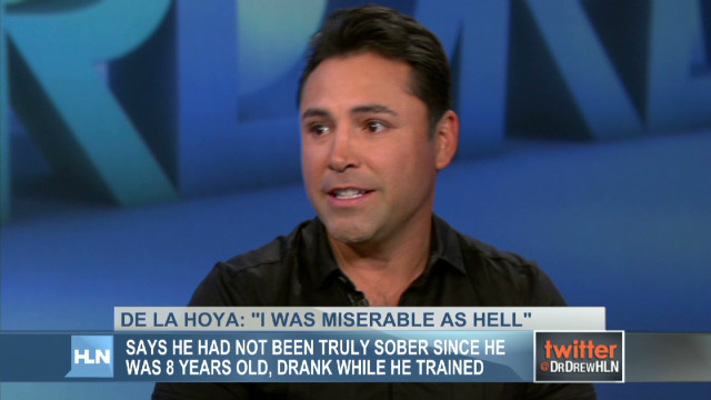 Oscar De La Hoya: A blackout drinker