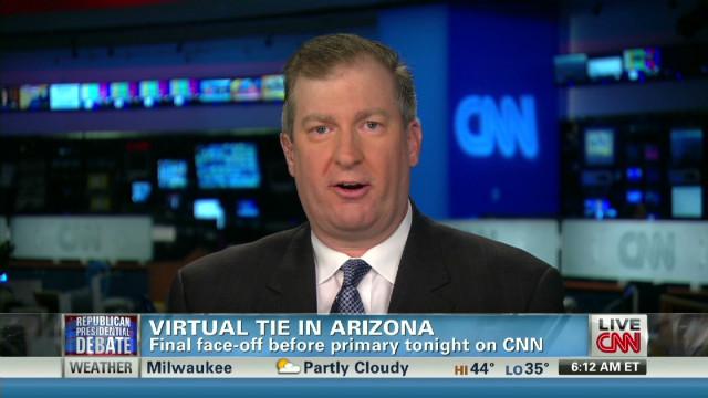 Santorum in spotlight at CNN debate