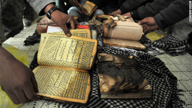 Coalition commander makes Quran apology