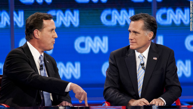 Democrats say Romney's extensive debate experience in the primaries puts him at an advantage in the presidential debates.