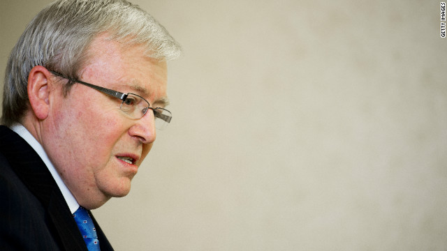 A potential challenge from Kevin Rudd could see the Australian Labor Party remove its third sitting prime minister.