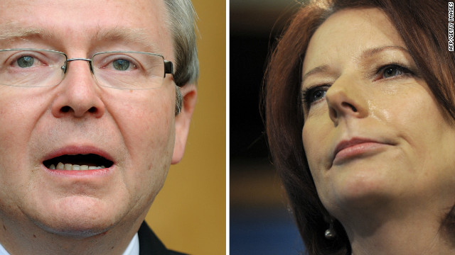 Gillard & Rudd: Aussie power struggle