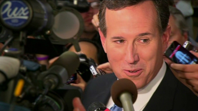Rick Santorum under attack