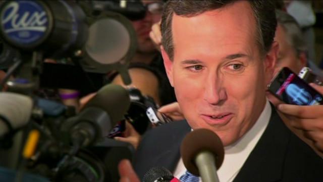 Rick Santorum under attack
