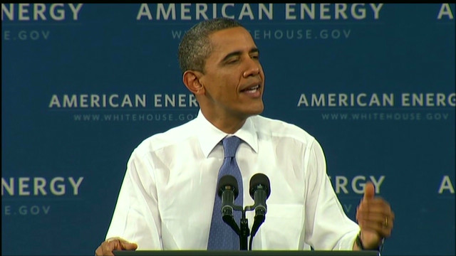 Obama: GOP gas plan a 'bumper sticker'