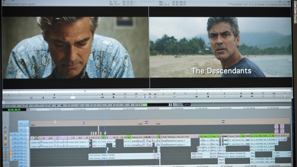 """The Descendants,"" Tent's latest film (and latest collaboration with director Alexander Payne), received five Oscar nominations, including nods for George Clooney, Payne and best picture."