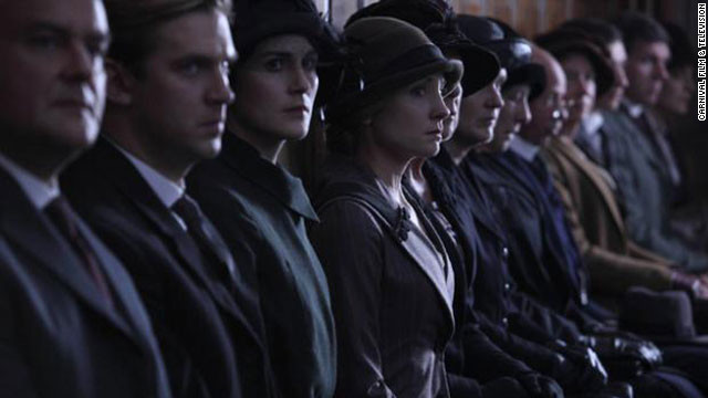 "Downton Abbey is PBS' most popular series since the premiere of ""National Parks"" in 2009."
