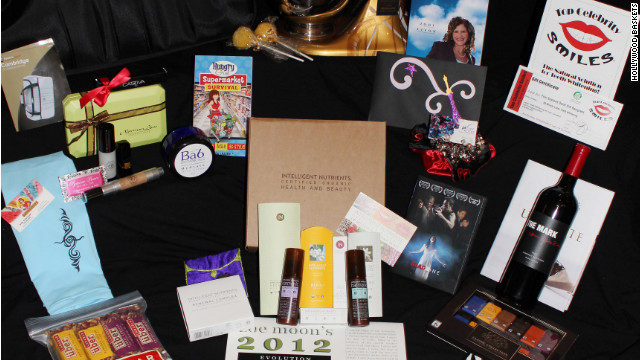 Top Oscar nominees and presenters get a customized kitchen mixer and 20 other items in a gift bag.
