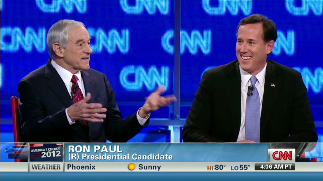 Santorum put on the defense at debate