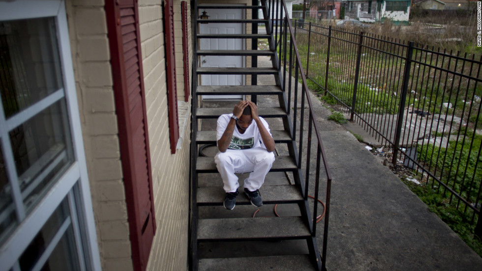 "But for many, such as rapper Justin Elliott (aka Hot Bizzle), New Orleans is not a place to enjoy, but one to escape. Elliott's cousin, Joseph ""Joker"" Elliott, was killed in January during a dispute with a neighbor. He was 17."