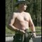 vladimir putin fishing topless