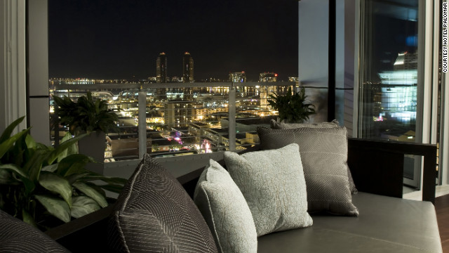 The Hotel Palomar in San Diego is offering a fourth night for $29 with a three-night stay.