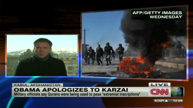 Obama apologizes for Quran burning