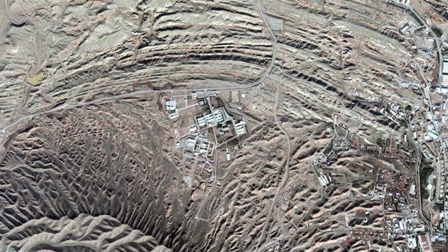 Nuclear site Iran wants to keep hidden